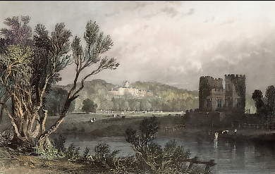 Netherby, Cumberland, the Seat Of Sir James Graham, First Lord of Admirality