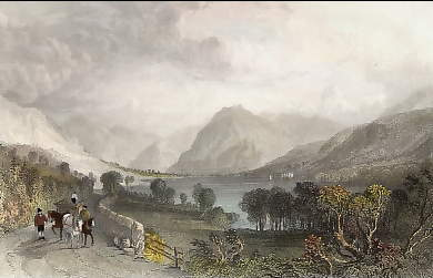 Loweswater, from Water End, Cumberland