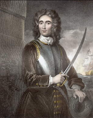John Benbow, Admiral of the Blue