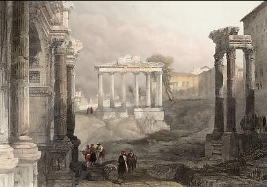 Rome, the Forum