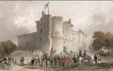 The Castle of Doune (Prince Charles Stuart . Disposal of His Prisoners After the Battle of Falkirk,