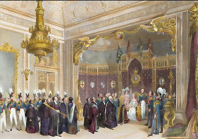 The Throne Room, Buckingham Palace, Presentation of an Address from the University of Oxford