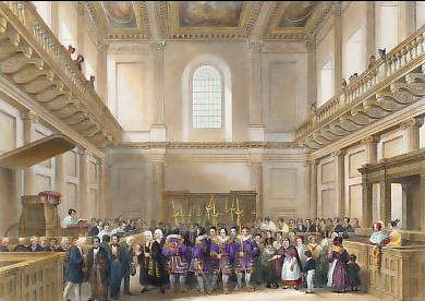 Banquetting House, Whitehall, Distribution of Her Majesty´s Maundy