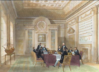 The Admiralty, Board Room, Meeting of the Lords of the Admiralty