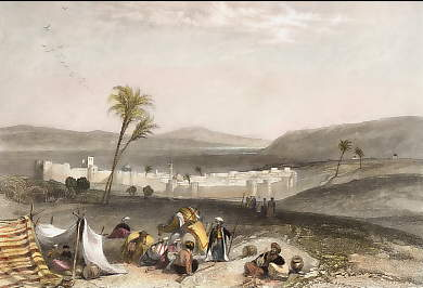 Tiberias, and the Sea of Galilee