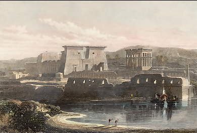 Ruined Temples at Philae