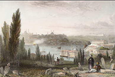 Constantinople, from Pera