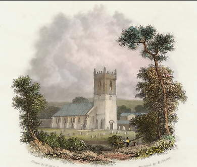 Hucknall Church, Nottinghamshire