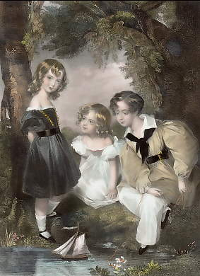 Children of the Lady Elizabeth & Charles Scrase Dickins