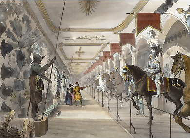 Tower of London, the Great Horse Armoury