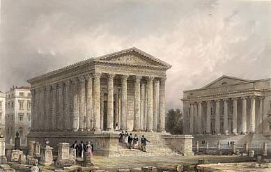 The Maison Carrée, Nîmes