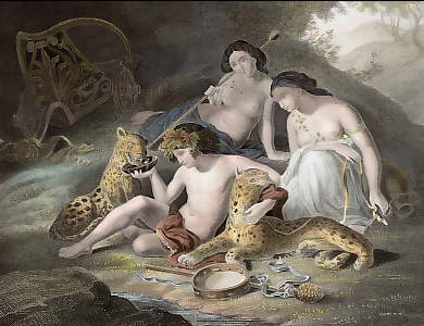 Bacchus and His Panthers
