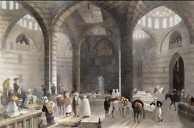 The Great Khan at Damascus