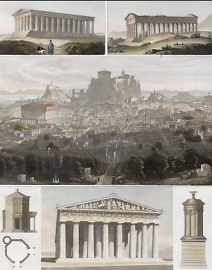 View of Ancient Athens