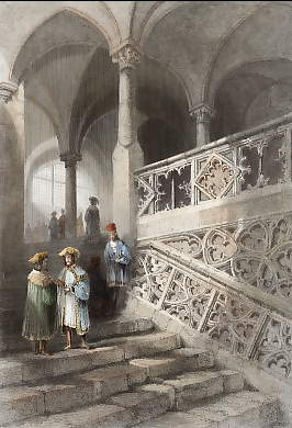 Staircase to the Rath-House, Ratisbon
