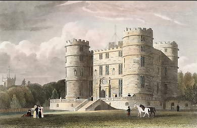 Lullworth Castle, Dorsetshire