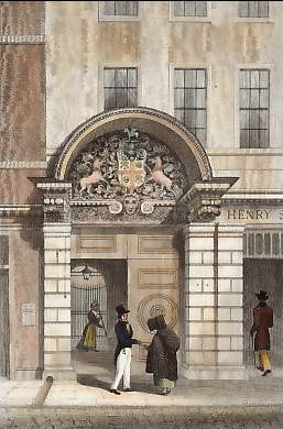 Barber Surgeon´s Hall, Monkwell Street