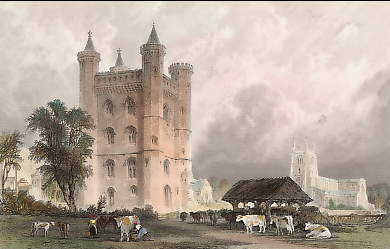 Tattershall Castle, Lincolnshire