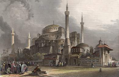 Constantinople, Ste Sophie