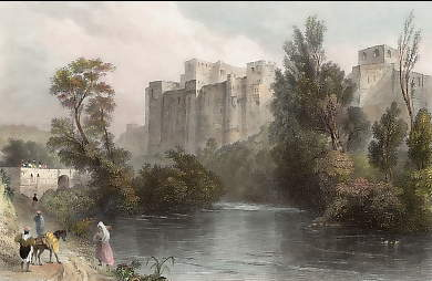 Castle Near Tripoli, On the River Kadesha
