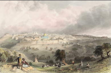Jerusalem, from the Mount of Olives