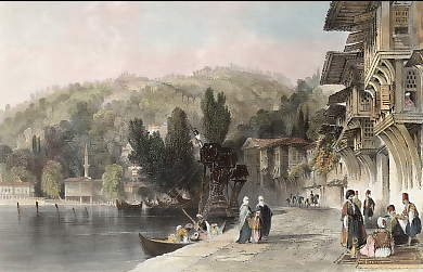 The Village of Babec, on the Bosphorus