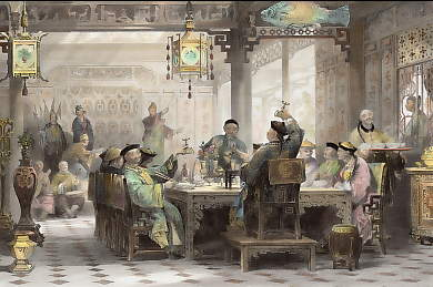 Dinner Party at a Mandarin´s House