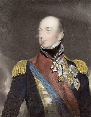 Sir Edward Codrington, Vice Admiral of the White