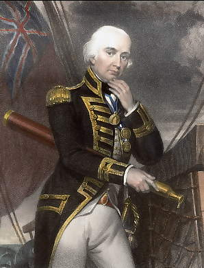 Cuthbert, Lord Collingwood, Vice Admiral of the Red
