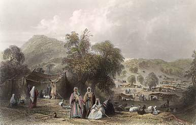 Arab Camp, Near Mount Tabor