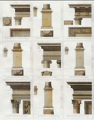 Architecture: Tuscan, Doric, Ionic, Corinthian and Composite