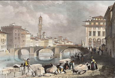 The Bridge of Santa Trinita, Florence