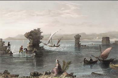 Remains of the Port of Tyre