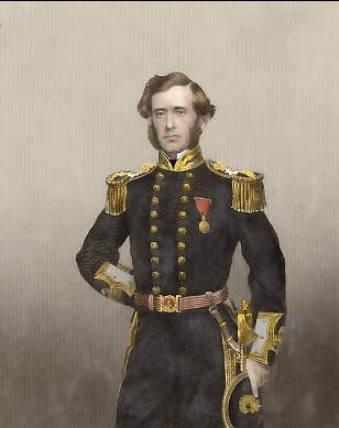 Captain Sir Leopold McClintock, Dicoverer of the Remains of Sir John Franklin Expedition