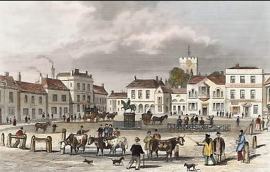 The Market Place, Petersfield, Hampshire
