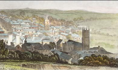The Town of Ashburton, Devonshire