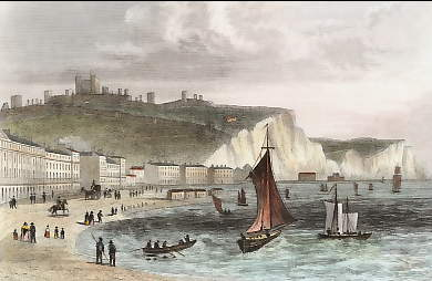 Dover, from the Beach, Kent