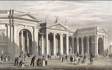 Bank of Ireland, Dublin ( South Portico ), the Original Parliament House