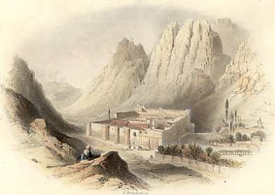 Convent of St Catherine, Mont Sinai