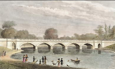 The New Bridge, Over the Serpentine, Hyde Park