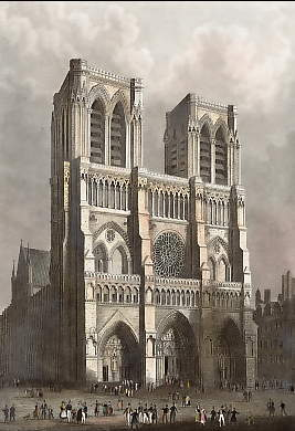 Notre-Dame-Cathedral in Paris