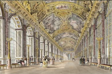 Gallery of Mirrors, Versailles
