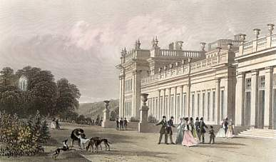 Chatsworth, Derbyshire, Seat of the Duke of Devonshire