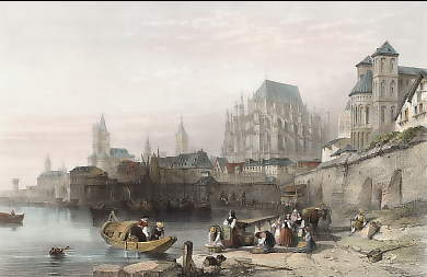 The City of Cologne on the Rhine