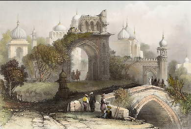 Ancient Gateway, Delhi