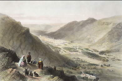 Valley of Sichem and Nablous
