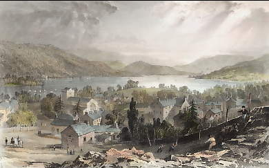 Bowness, & Windermere Lake, Westmorland