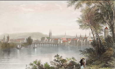Basle, on the Rhine