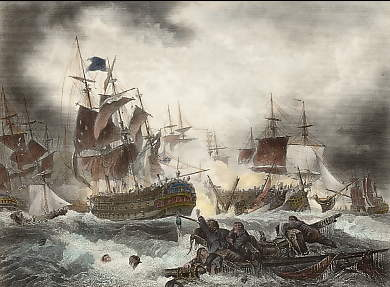 Admiral Duncan´s Victory Over the Dutch Fleet, in the North Sea, October 11th 1797