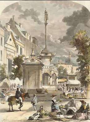 The Market Place at Liege